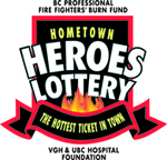 Hometown Heroes Lottery homepage