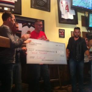 Power ride cheque presentation 2015
