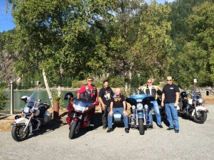 Power ride for recovery group shot Porteau Cove 2015